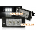 Audi 3 X LED numbrituled