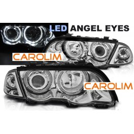 BMW E46 LED angel eyes esituled