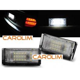 BMW E46 LED numbrituled