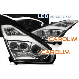 Nissan GT R LED esituled
