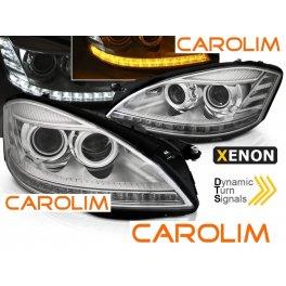 Mercedes S W221 DRL xenon esituled