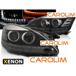 Mercedes W221 DRL xenon esituled