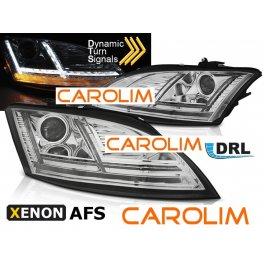 Audi TT DRL LED xenon esituled