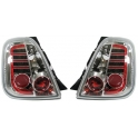 Fiat 500 LED tagatuled