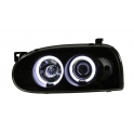 Volkswagen Golf 3 CCFL angel eyes esituled
