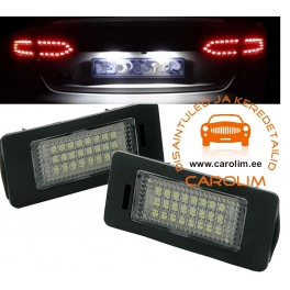 Volkswagen Passat LED numbrituled
