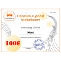 Carolim e-poe kinkekaart 100 EUR