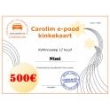 Carolim e-poe kinkekaart 500 EUR