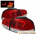 Volkswagen Golf 6 LED tagatuled