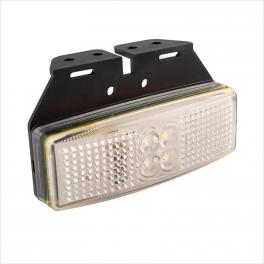Haagise LED gabariittuli, valge 12V/24V
