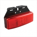 Haagise LED märgistustuli, punane 12V/24V