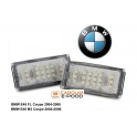 BMW E46 Coupe LED numbrituled
