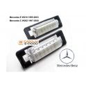 Mercedes LED numbrituled