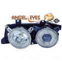 BMW E32 angel eyes esituled